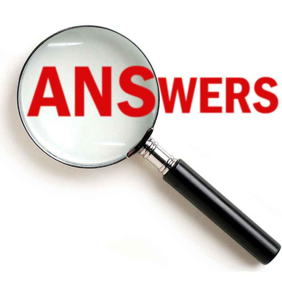 need answers